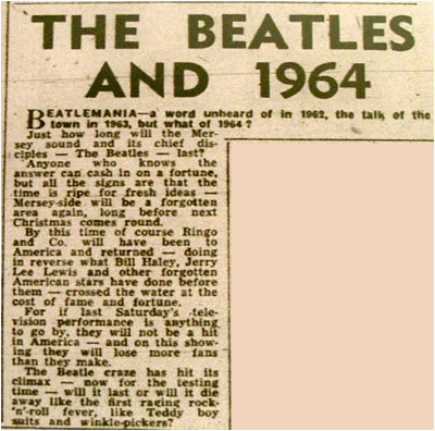 a history of the beatles success in america Article on the first day of the beatles' us invasion the day the beatles' american invasion began visit the beatles history section.