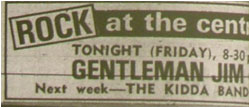 24/11/78 - Gentleman Jim, Tamworth Arts Centre