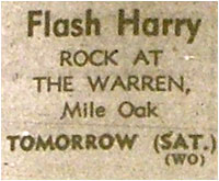 14/06/80 - Flash Harry, The Warren