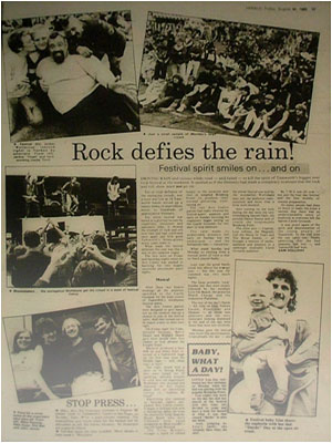Tamworth Rock Festival 1985
