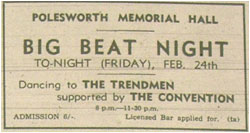 Big Beat Night - The Trend Men and The Convention