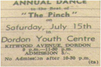 15/07/67 - The Pinch - Dordon Youth Centre